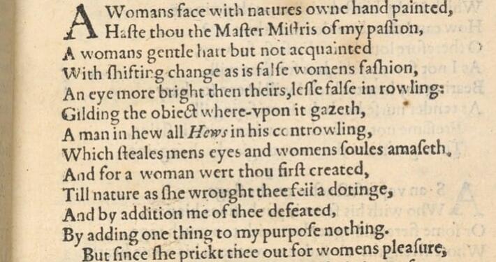 shakespeare's sonnet 20