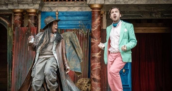 twelfth night review the globel theatre